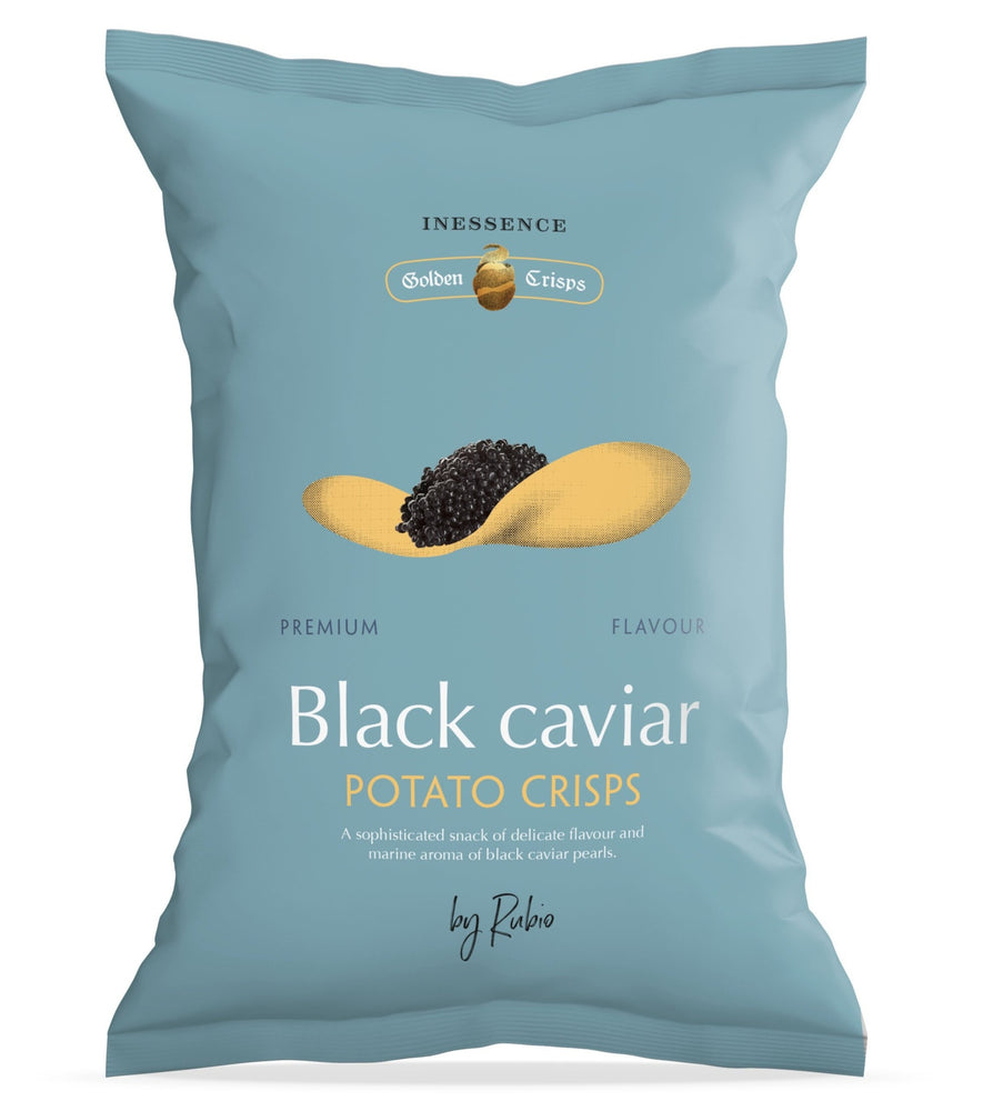 Black Caviar Potato Chips
