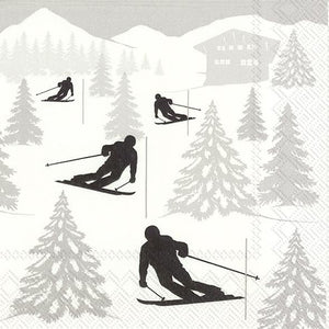 Load image into Gallery viewer, Ski Holiday Napkins