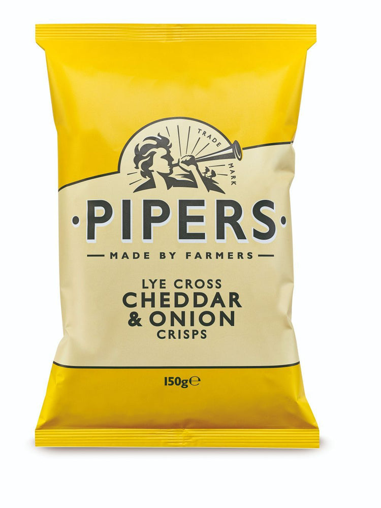 Load image into Gallery viewer, Lye Cross Cheddar & Onion Crisps