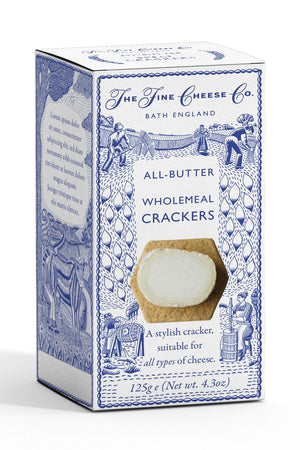 All-Butter Wholemeal Crackers
