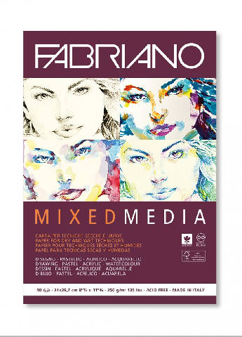Fabriano Mixed Media (40 folhas)