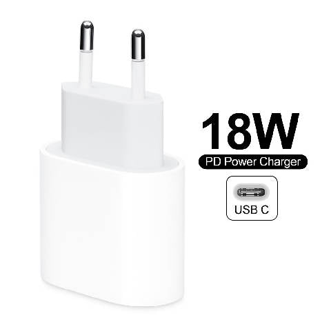 Adaptador original apple 18w USB-C UE plugue para ipad e iphone 8/x/11 pro