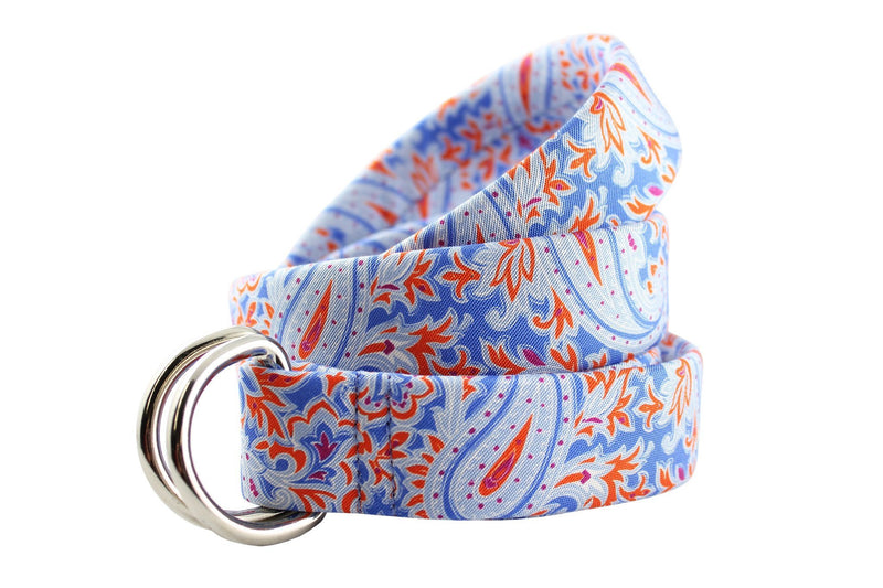 KRAGÜ PAISLEY ORANGE BLUE - KRAGÜ GmbH