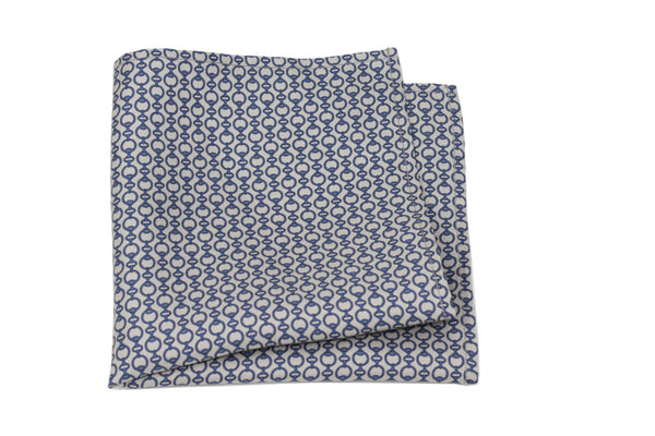 KRAGÜ POCKET SQUARE PEARL GREY - KRAGÜ GmbH