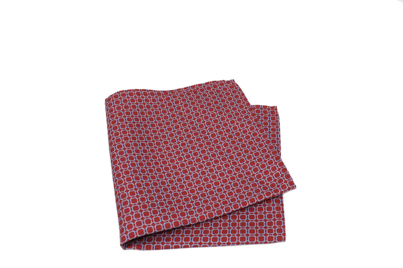 KRAGÜ POCKET SQUARE STIRRUP RED BEAUTY - KRAGÜ GmbH