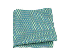 KRAGÜ POCKET SQUARE STIRRUPS MINT GREEN - KRAGÜ GmbH