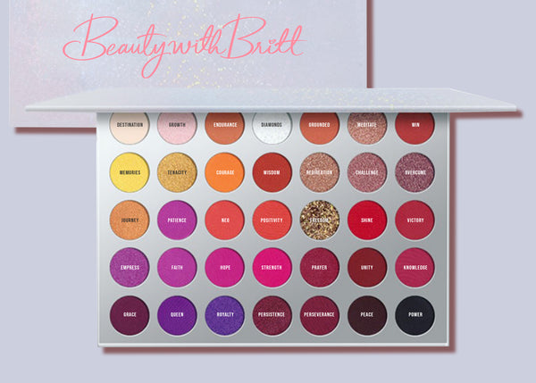 Beauty with Britt Make Up Palette Vol1