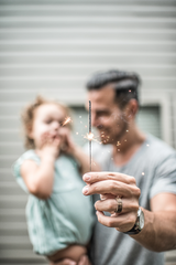 Sparklers as a gift idea