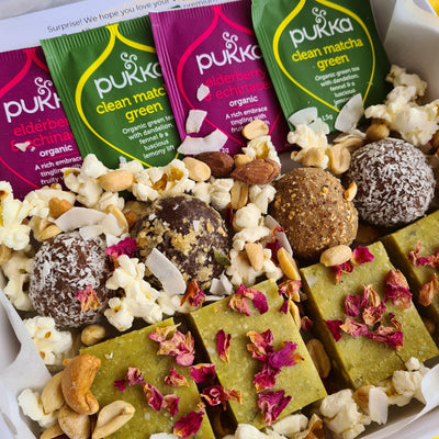 vegan classic celebration dessert box