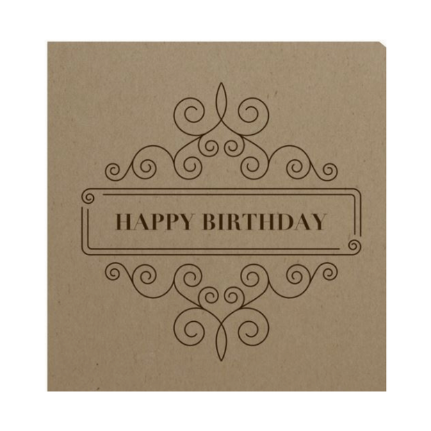 Happy Birthday Card - Treat 'Em