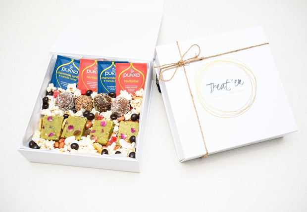 classic celebration gift box, healthy gift box