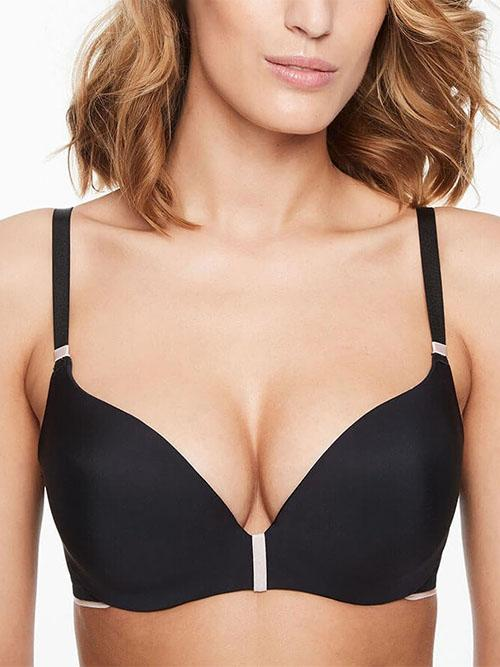 ReggisenoChantelleAbsolute Invisible Smooth Push Up - BlackSTIRPARO Lingerie Stylists
