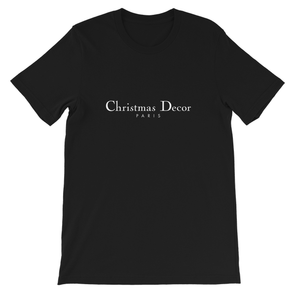 Bella + Canvas Short-Sleeve Unisex T-Shirt: Christmas Decor. LIMITED EDITION.