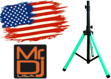 Load image into Gallery viewer, MR DJ SS700LED Color Stand <br/> ultra-bright universal color-changing stand LED speaker stand tripod telescoping with LED lighting and IR remote control