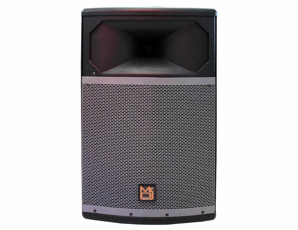 "MR.DJ PRO115BT POWERFULL PROFESSIONAL SINGLE 15"" FULL RANGE POWERED SPEAKER"