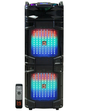 "Load image into Gallery viewer, Mr. Dj ATLANTIC <br/>Dual 12"" 4500 Watts P.M.P.O speaker with built-in Bluetooth"