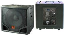 Load image into Gallery viewer, MR DJ PRO-SUB15AMP <br/>15-Inch 5400W Active Self-Powered PA DJ Subwoofer with Bluetooth USB/SD/FM and 2 Speaker Output