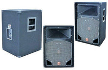 "Load image into Gallery viewer, MR DJ COMS15 <br/>2-Way PA DJ Speaker 15"" 2500 Watts with 2"" Titanium Driver 430W RMS"