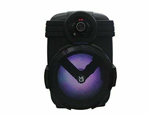 "Mr. Dj Yuma 12"" Portable Active Speaker with Rechargeable Battery 2000 Watts P."