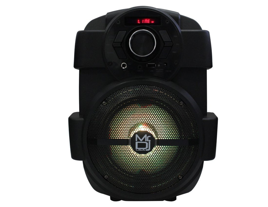 "MR DJ PSE65BT<br/> 6.5"" Portable Active Speaker with Rechargeable Battery Party Speaker with Bluetooth 1000 Watts P.M.P.O"