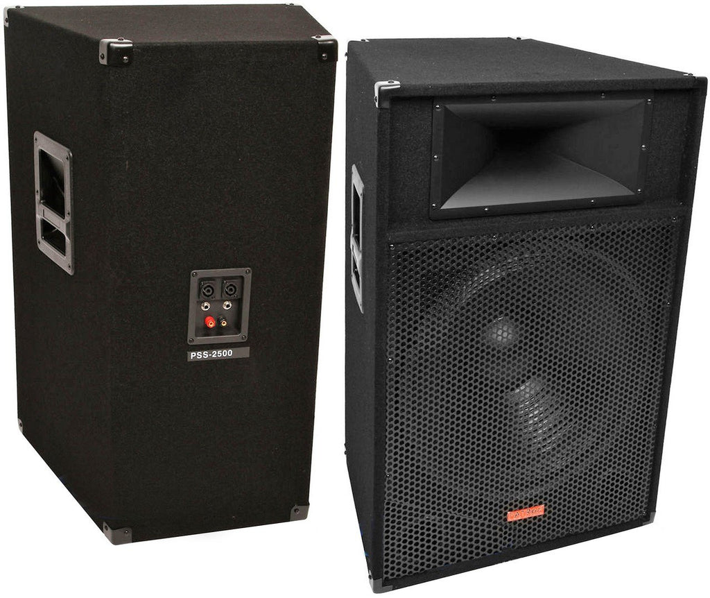 "Mr Dj Patron Pro Audio PSS-1700<br/> Single 15"" passive2 way dj/pa loudspeaker"