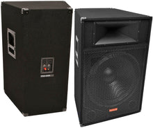 "Load image into Gallery viewer, Mr Dj Patron Pro Audio PSS-1700<br/> Single 15"" passive2 way dj/pa loudspeaker"