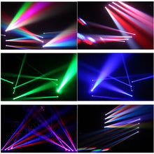 Load image into Gallery viewer, MR DJ QLMH400 <br/>150W 4-Head LED Beam Moving Head Bar Strobe Light, DMX 512, 4x10w RGBW Spot Stage Lighting for Dj Disco Night Club Stage