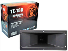"Load image into Gallery viewer, MR DJ TE-180<br/> 4""x10"" 300 Watts Piezo Compression Horn Tweeters Driver for PA DJ Speakers"