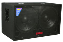 "Load image into Gallery viewer, Patron PROSUB-12000 <BR/>Dual 18"" Passive DJ Subwoofer 12000 Watts Max"