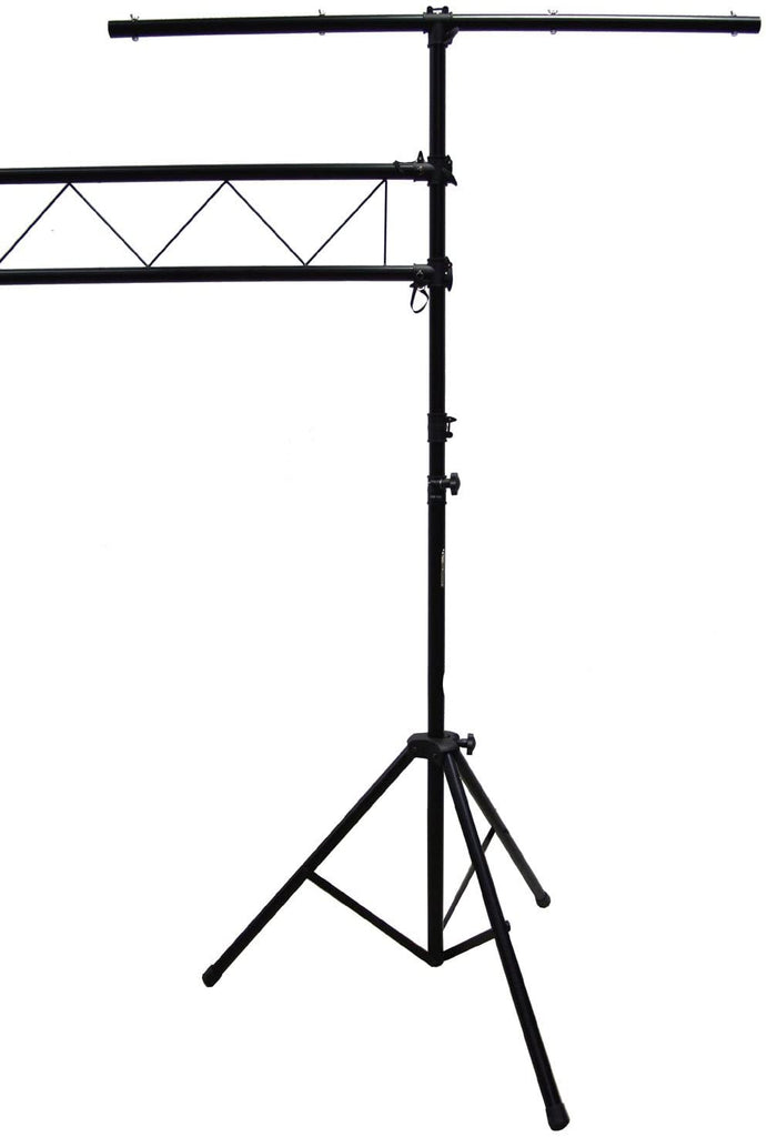 MR DJ LS560 10 Feet Lighting Stand<BR/> 10Feet Mobile Portable Dj Band PRO Audio PA DJ Light Lighting Stage Fixture Truss Stand with T-Bar Trussing Stage System