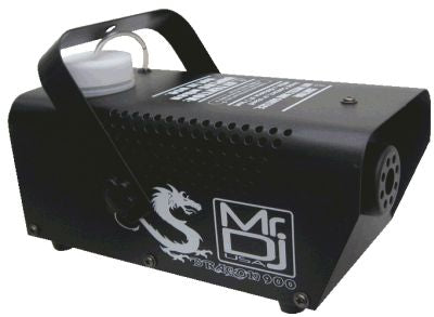 MR DJ DRAGON900<BR/> 900W compact fog smoke machine with remote & fog fluid, quick heat-up thick fog