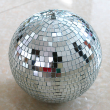 "Load image into Gallery viewer, MR DJ MB8 8"" mirror ball<br/> 8"" mirror ball covered in high quality 1/4-inch mirrored glass and mirror ball motor"