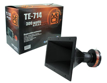"Load image into Gallery viewer, MR DJ TE-714>br/> 7""x14"" 300 Watts Piezo Compression Horn Tweeters Driver for PA DJ Speakers"