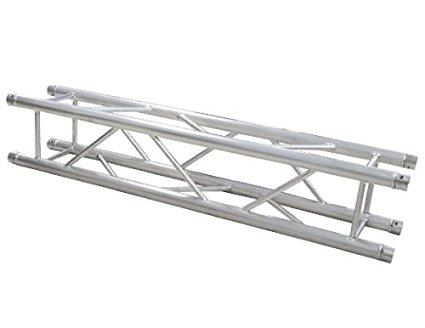 Mr Truss TSQ820 Universal 8.20 Ft/2.50 M Square Box Aluminum Lighting Trussing With 2 Inch Tubing Fits Most Truss