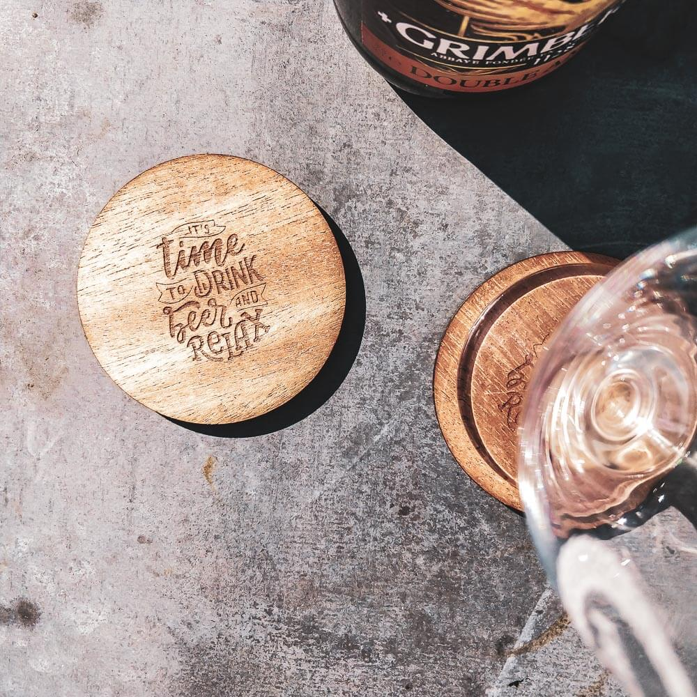 Beer Time Coasters