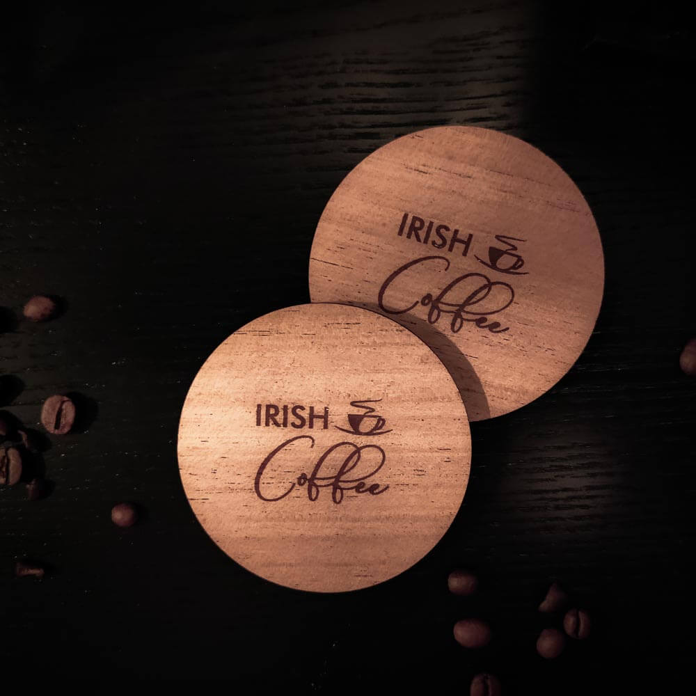Irish Coffee Coasters