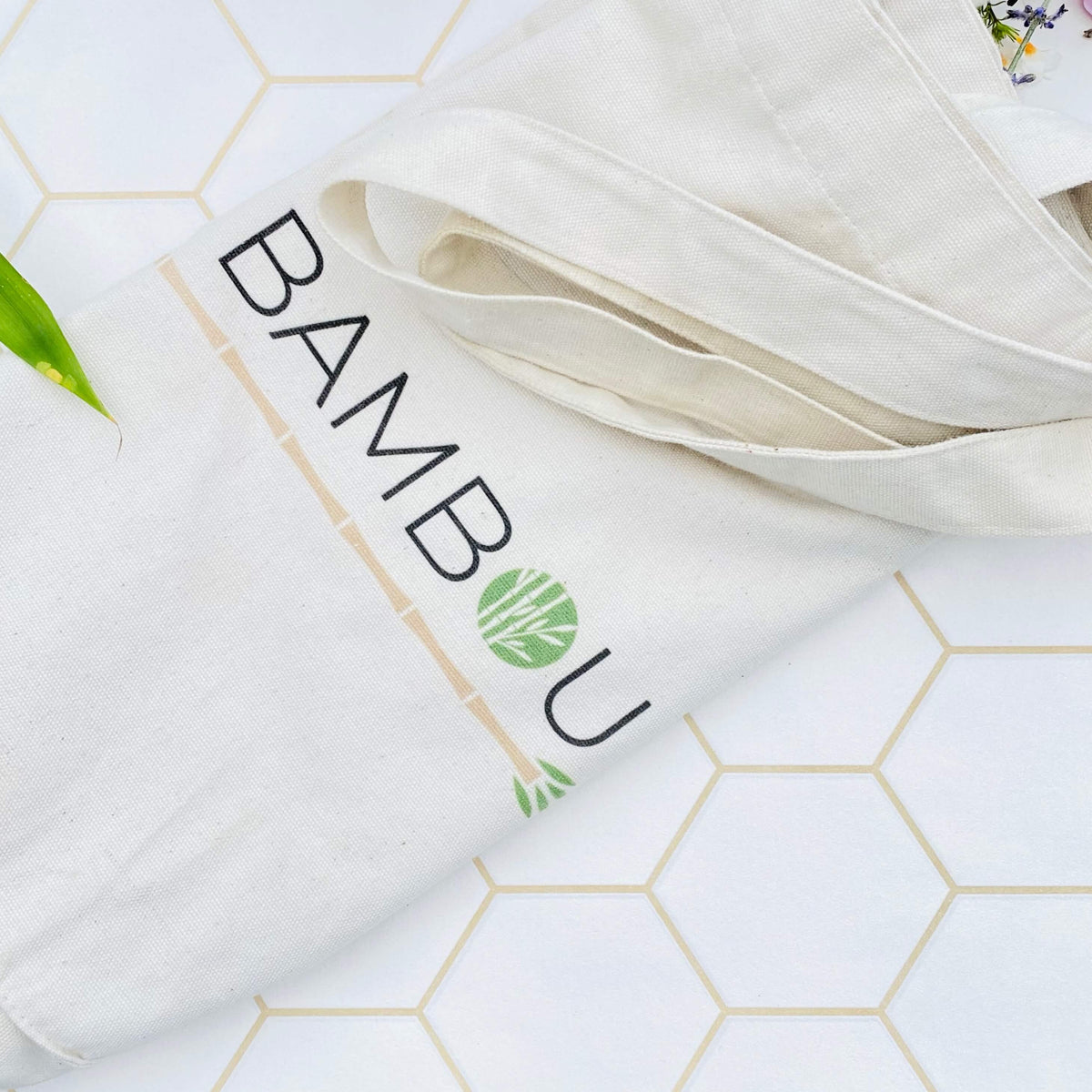 Shopping Bag Coton Recyclé My Bambou