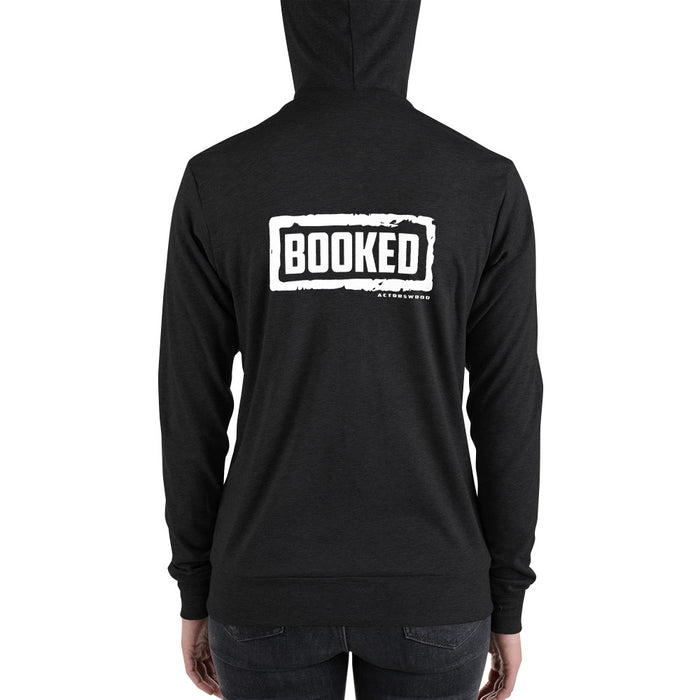 Booked W Zip Hoodie - Actorswood Official