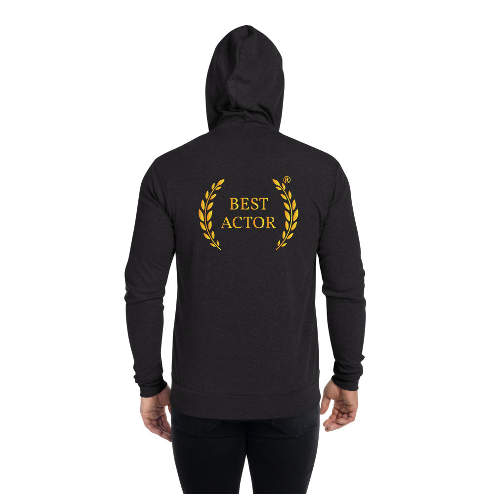 Best Actor Zip Hoodie - Actorswood Official