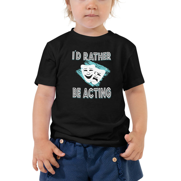 I´d Rather Be Acting Baby T-Shirt - Actorswood Official
