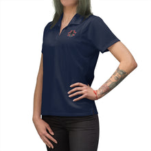 Load image into Gallery viewer, TTO Logo Embroidered Fem. Bodied Polo Shirt