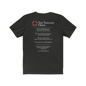 TTO Logo Front - Text Back - Unisex Jersey Short Sleeve Tee
