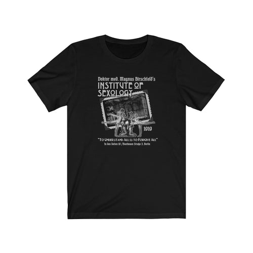 Hirschfeld Institute of Sexology: Berlin 1919 - Dk colors - Unisex Jersey Short Sleeve Tee
