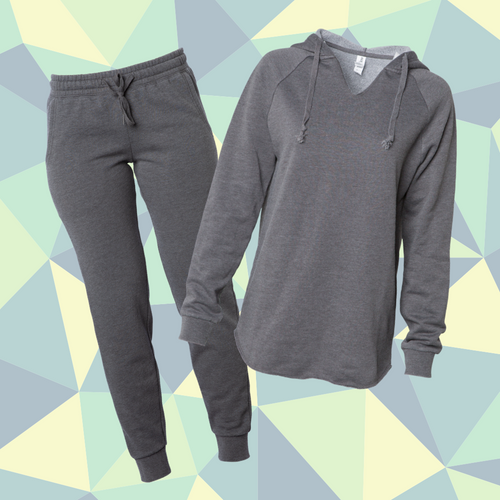 Women's Grey Sweatsuit