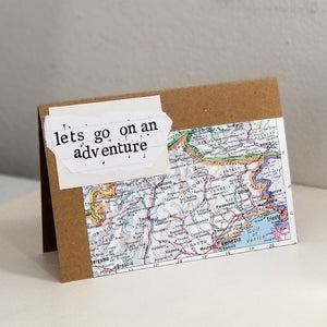 let's go on an adventure - greeting card