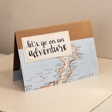 Load image into Gallery viewer, let's go on an adventure - greeting card