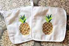 Load image into Gallery viewer, Pineapple Pot Holders