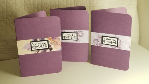 i am so grateful - 3 card set with envelopes