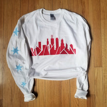 Load image into Gallery viewer, Skyline Long Sleeve (White) [crop OR full length]