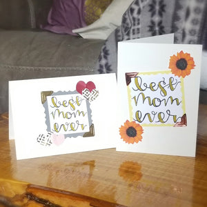 Best Mom Ever - Greeting Card